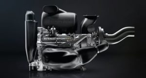 Motor Renault F1.