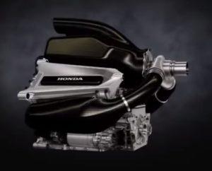 Motor Honda F1.