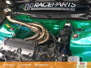 Motor KSeries de competencia preparado en Costa Rica.