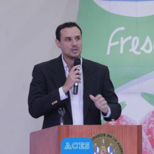 Licenciado Gerardo Arias, Gerente General del Automóvil Club de El Salvador.