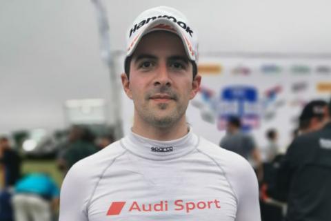 Rolando Saca, tercero en la GTS del CTCC